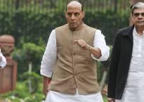 Rajnath reviews security situation in Kashmir, Assam