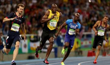 Usain Bolt declares after winning gold at Rio: 'Trying to be one of the greatest - among Muhammad Ali, Pele, Michael Phelps'