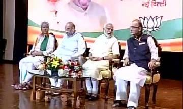 Nationalism brought us to power: PM Narendra Modi tells BJP leaders