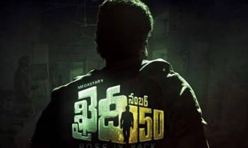 Motion poster of Chiranjeevi's 150th film unveiled on birthday