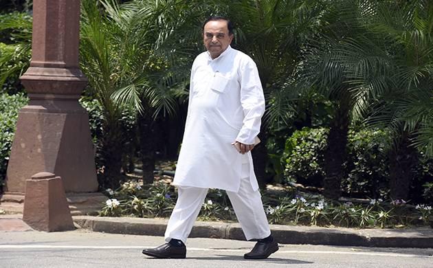 Subramanian Swamy (File Photo)