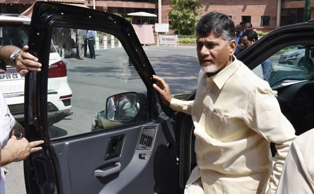 Andhra Pradesh Chief Minister N Chandrababu Naidu: Source Getty Images