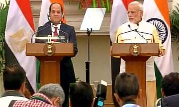 India-Egypt to work together in agriculture, skill development and health sectors: PM Modi