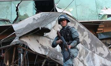 Third blast after twin Taliban suicide blasts in Kabul kill 24, wound 91