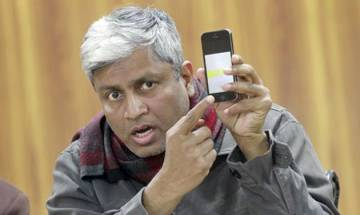 Sex tape row: Freedom of expression is being crushed, says AAP's Ashutosh in series of tweets on NCW summon