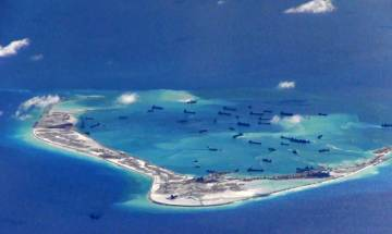 China under pressure at Asia summit over South Cina sea row