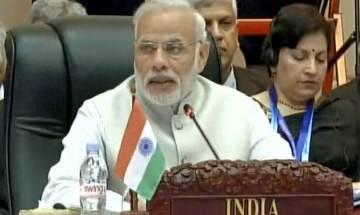 PM Modi slams Pakistan for sponsoring terrorism in ASEAN