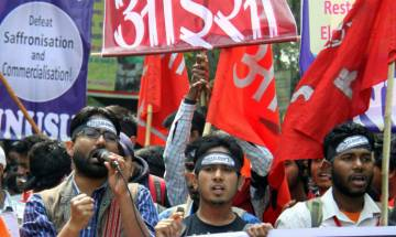 JNUSU polls: ABVP and BAPSA fight it out with the AISA-SFI alliance