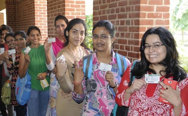 छात्र संघ चुनाव के लिए मतदान (getty images)