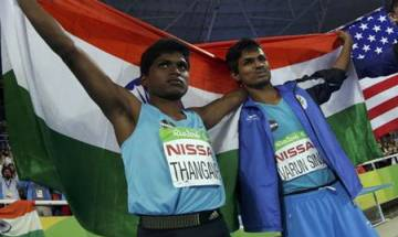 Cash awards, congratulatory messages for gold medallist Mariyappan Thangavelu, bronze winner Varun Bhati at Paralympics