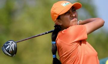Teenage golfer Aditi Ashok registers first top-10 finish as a pro