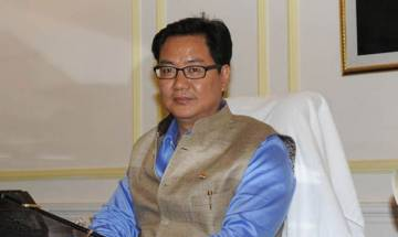 Union Minister Rijiju blames Cong internal dissent for Arunachal development