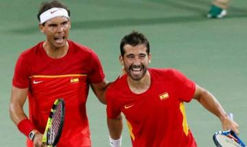 Davis Cup: Nadal-Lopez beat Paes-Myneni, Spain win World Group play-off