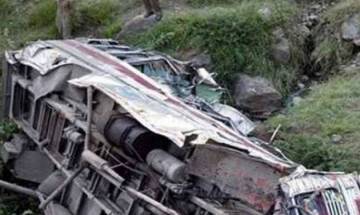 Watch Video: 35 killed, several injured as bus carrying 65 passengers falls into roadside pond in Bihar's Madhubani district; PM offers condolences