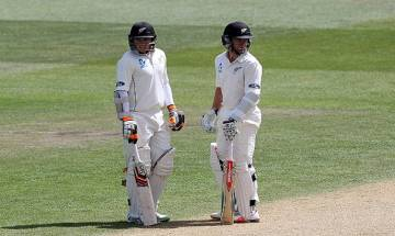 Cricket score Ind vs NZ, 1st Test, Day 2: Williamson, Latham put New Zealand on top on rain-hit day