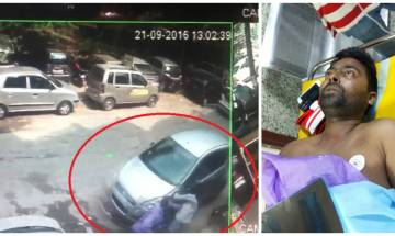 Caught on Video: Hit-and-run captured on CCTV in Delhi's Malviya Nagar, FIR registered