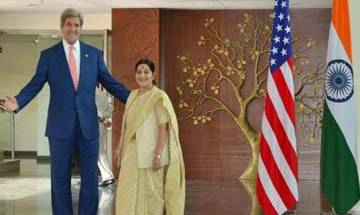 US expresses deep concern over current Indo-Pak situation, Kerry asks Sushma not to escalate the situation