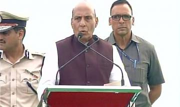 HM Rajnath Singh praises Indian Army for surgical strikes across LoC