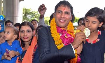 Four Indian Rio Paralympics medal winners felicitated, each receive Rs 15 Lakh