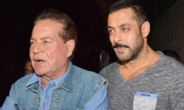 Ban on Pakistani actors:  Salim Khan slams son Salman Khan's critics; posts series of sarcastic tweets