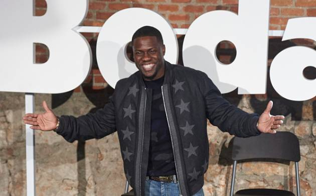 Kevin Hart honoured with a star on Hollywood Walk of Fame (Image: Getty)
