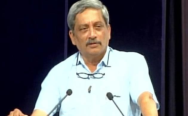 Defence Minister Manohar Parrikar (Pic: ANI)