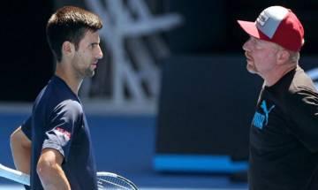 Novac Djokovic says no talks on retaining Boris Becker