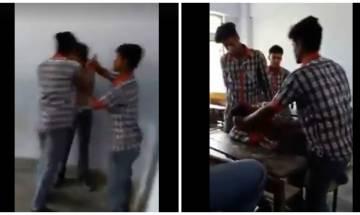 Viral Video: Muzaffarpur students thrash classmate, FIR filed