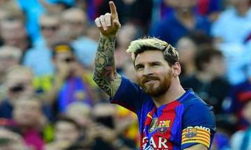 Messi makes a winning return as arch rivals Madrid stay atop