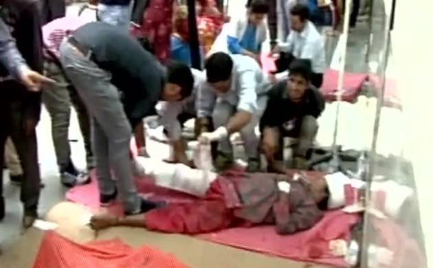 J&K: 22 killed after bus turns turtle and falls into a deep gorge in Reasi (Pic: ANI)