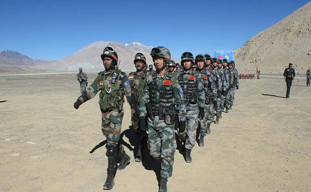 Sino India Cooperation 2016 A in Ladakh (Image: Twitter)
