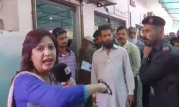WATCH: Pakistani policeman slaps woman reporter during live broadcast in Karachi