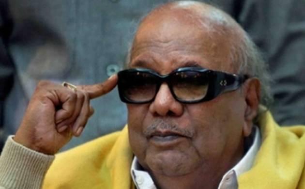 DMK supremo M Karunanidhi (file photo)