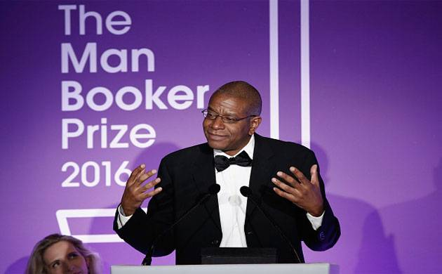 Author Paul Beatty poses for a photo after winning the Man Booker Prize in London. (Getty Images)