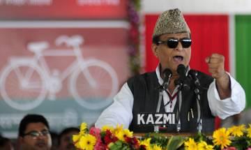 UP minister Azam Khan criticises PM Modi's slogan 'Jai Shree Ram' at Dussera function, adds he should have raised slogans of all religions