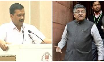 Delhi CM raises questions over alleged taps on judges' phones; Law min denies it