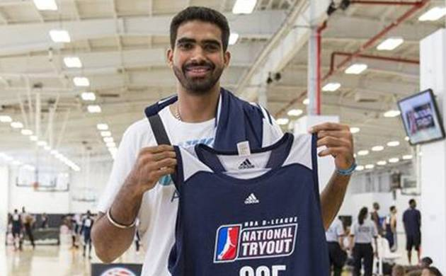 Indian basketball player Palpreet Singh (Image Source: Twitter)