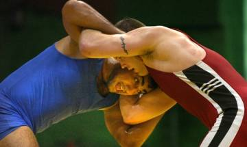 Indian wrestlers win eight gold and as many silver medal at Commonwealth Wrestling C'ship