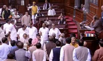 Parliament Winter Session Day 2 | Currency ban debate in RS: Both Houses adjourned till Friday amid ruckus