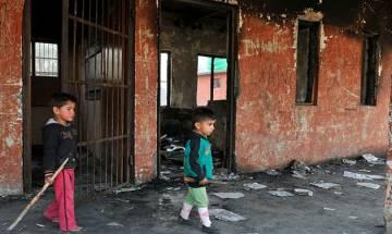 J&K: Miscreants set ablaze Government Primary school at Kupwara district