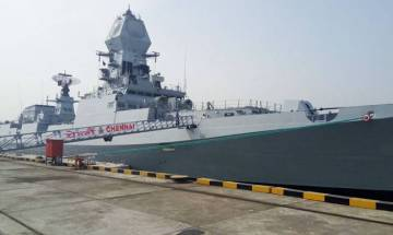 'INS Chennai': India's largest indigenous stealth guided missile destroyer commissioned