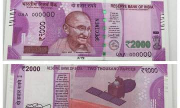 PIL filed in Madras High Court over use of Devanagari on Rs 2,000 notes