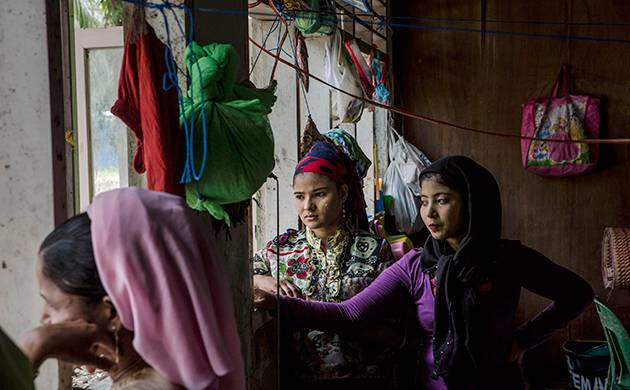 A file photo of Rohingya Muslim family (Getty Images)