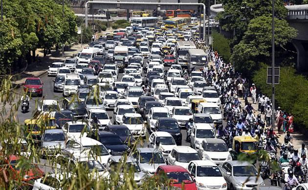 Congested Delhi Traffic - Representative image (Image Source: Getty)