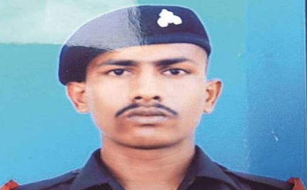 A file photo of Indian soldier Chandu Chavan.
