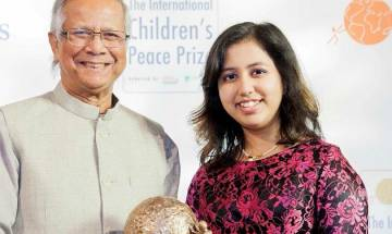 16-year-old UAE-based Indian girl wins International Children's Peace Prize for 2016