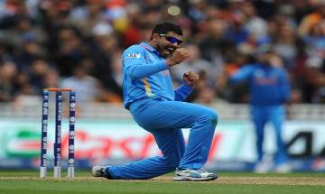 Sehwag urges Ravindra Jadeja to cut cake in sword style celebration on his 28th Bday