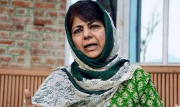 Mehbooba Mufti meets with Guv, discusses J&K situation and development projects