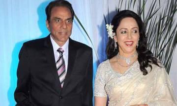 Veteran Actress Hema Malini wish her husband, actor Dharmendra on his birthday