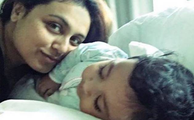 Rani Mukerji pens letter to daughter as she shares first  picture of Adira (Image: Instagram)